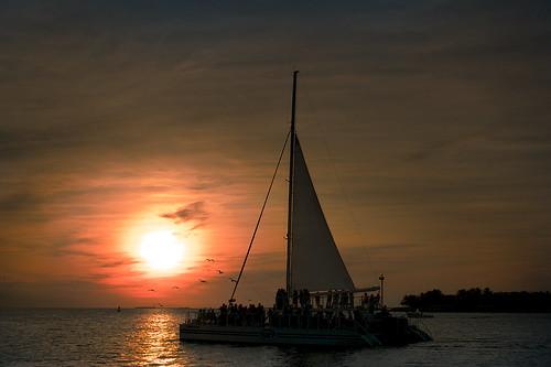 sunset sea sky silhouette clouds sony caribbean keywest sonynex nex6