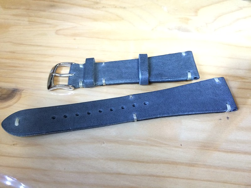 腕時計ベルト交換…失敗(笑)