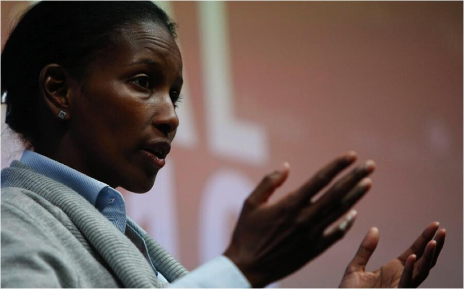 Ayaan Hirsi Ali by Pariesa Young