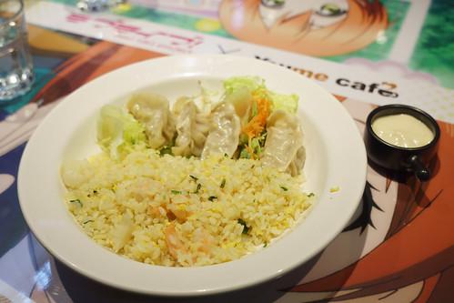打頭陣的是海末的日式餃子炒飯