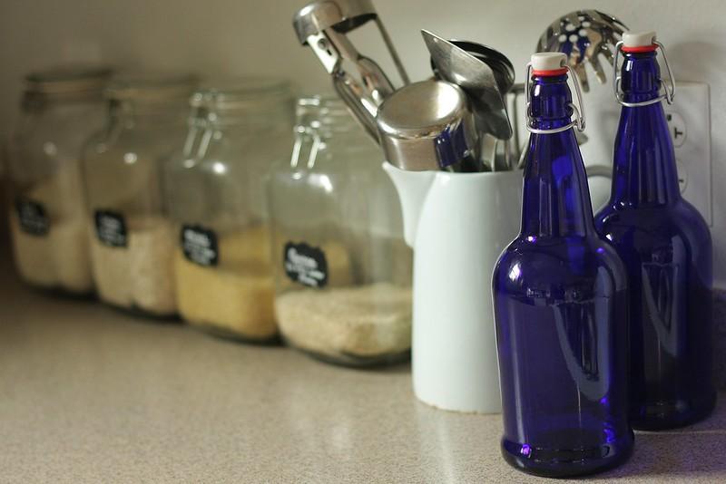 water kefir/kombucha bottles