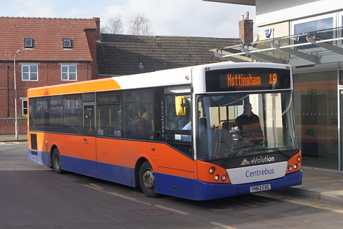Centrebus YH63CXC