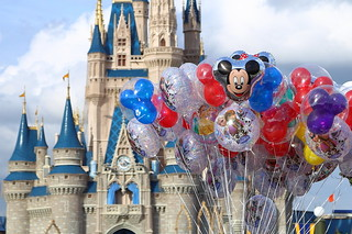 BALLOONS - Magic Kingdom