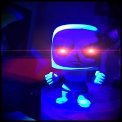062 Lil Darkseid under Ultraviolet Light