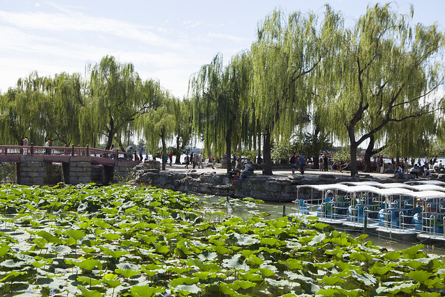 The West Causeway (Xidi) at Summer Palace, Beijing, China