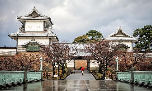金澤城-石川門 Kanazawa Castle Park