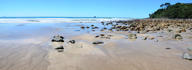 Hot Water Beach, North Island, New Zealand