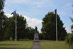 Digger Monument at Bullecourt (France 2016)