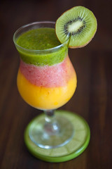 Tropical Smoothies for Summer.
