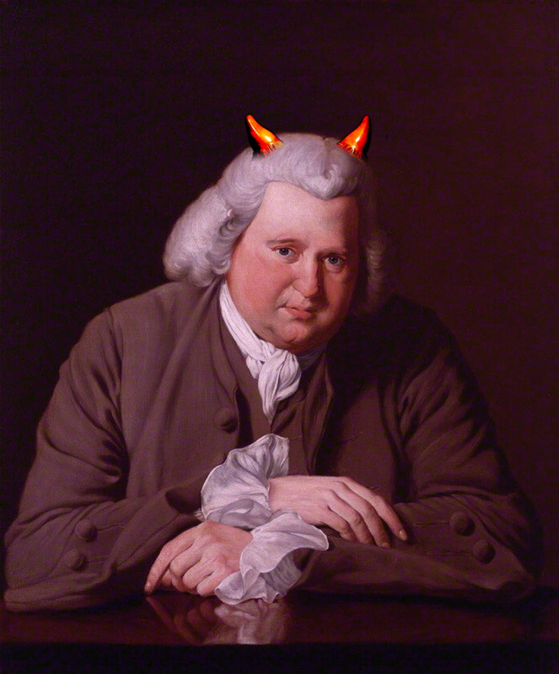 Erasmus Darwin by Joseph Wright of Derby, 1770