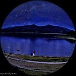 `Noche de Estrellas`, Lago de Suchitoto o Suchitlán,Cuscatlán,El Salvador.