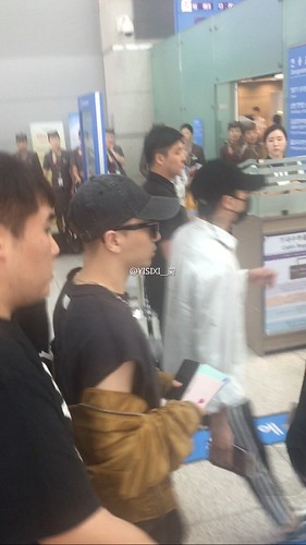 Big Bang - Incheon Airport - 24jun2016 - YISIXI - 14