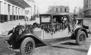 circa 1925, Morocco , central Casablanca, hunting back.