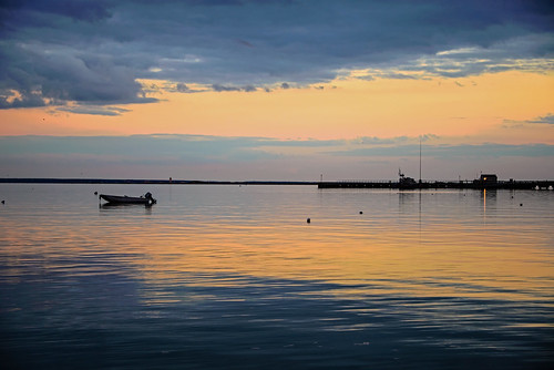 sunset water clouds reflections landscape evening pier boat dock nikon dusk provincetown capecod massachusetts waterscape d600 nydavid1234