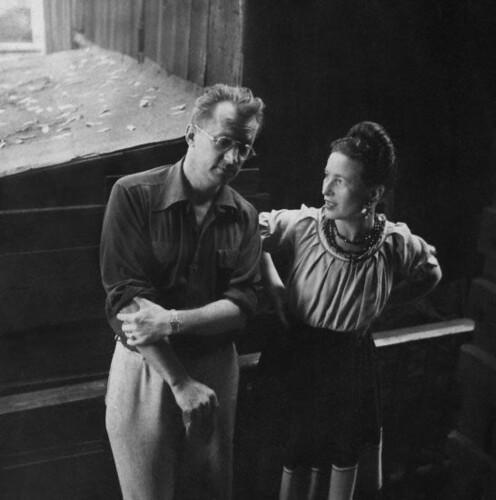 Nelson Algren & Simone de Beauvoir