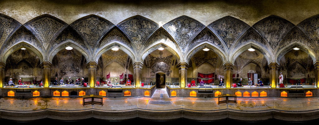 Vakil bath, photo by Mohammad Reza Domiri Ganji
