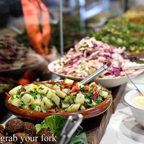 Potato salad at The Black Groodle, Ultimo
