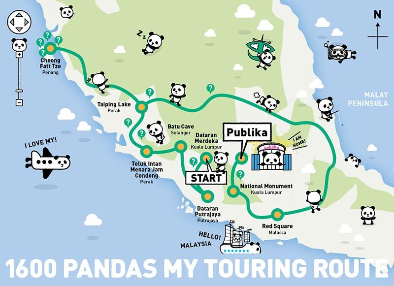 1600 pandas malaysia road map
