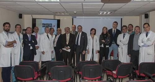 AionSur 15924952290_75c3d364f2_d La Unidad de Cirugía General de Virgen Macarena y Virgen del Rocío recibe la visita de la Asociación Internacional Médica Iraquí Salud