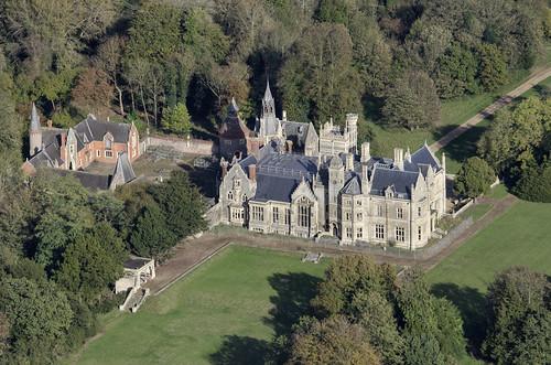 norfolk aerial mansion brettenham shadwellcourt ip242rp