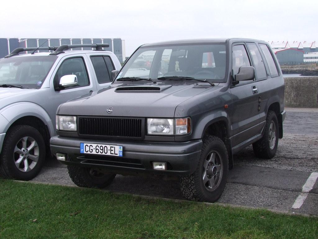 Opel Monterey D X Portes A Photo On Flickriver - 4x4 3 portes