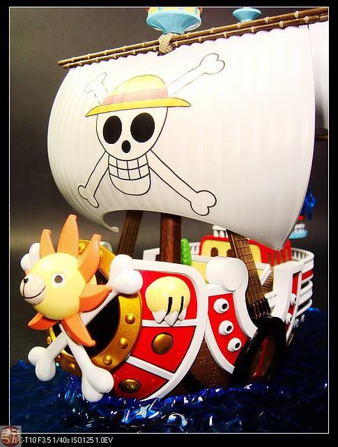 【玩具人君魂投稿】海賊王 偉大船艦收藏集GRAND SHIP系列 自製蒐藏場景