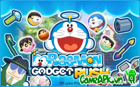 Doraemon Gadget Rush v1.1.0 hack full cho Android