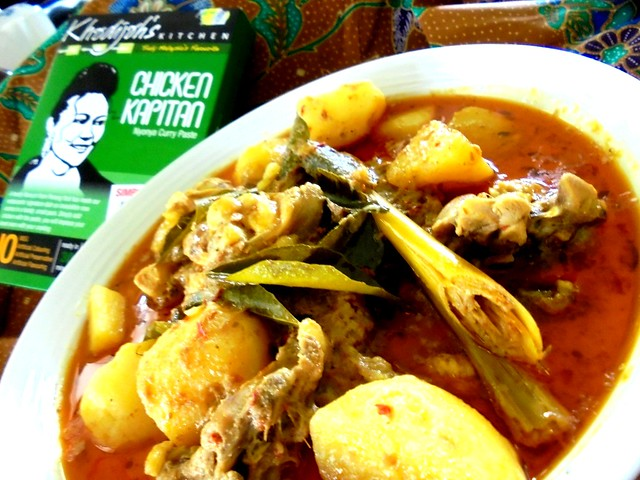 Khadijah's Kitchen chicken kapitan 4