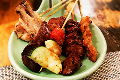 20150218-25-Yakitori skewers of chicken liver, hea…