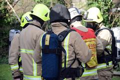 Surrey fire crews test response to care home blaze