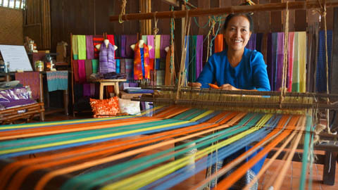 Traditional Thai Weaving Style, Nakhon Pathom - Thailand | The ...