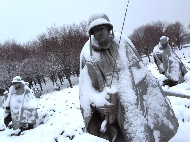 Korean War Veterans Memorial from Flickr via Wylio