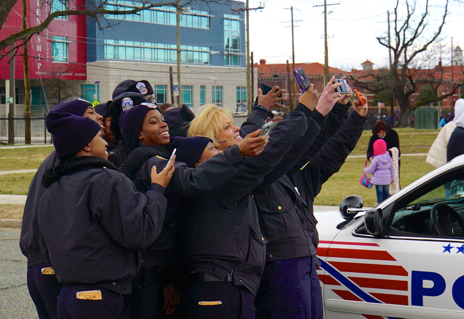 Photo Friday:  Leadership Selfie, DC Police Chief Cathy Lanier, Washington, DC USA
