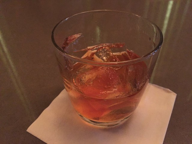 Maple Old Fashioned cocktail - E&O Kitchen and Bar