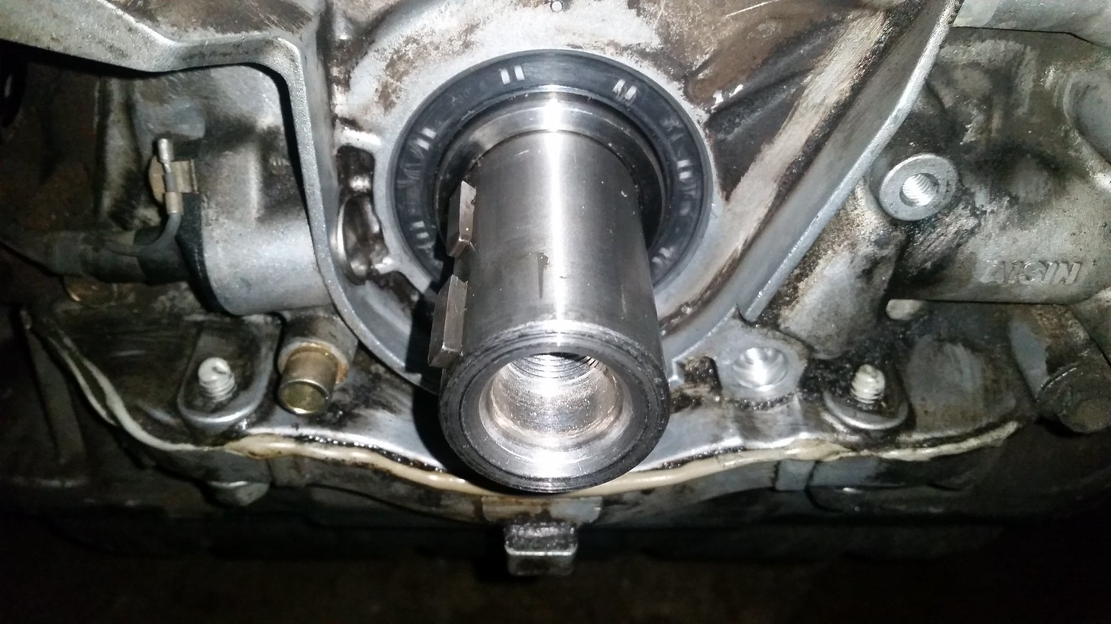 Diy complete timing beltwater pump seals lexus is forum remove cam gear by holding cam with adj wrench vvti cam gear has 14mm hex bit cap with a seal and a 10mm inside before removal you want to make sure vvti solutioingenieria Image collections