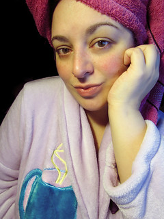 Sunday January 4th, 2015 Straight out of the shower...