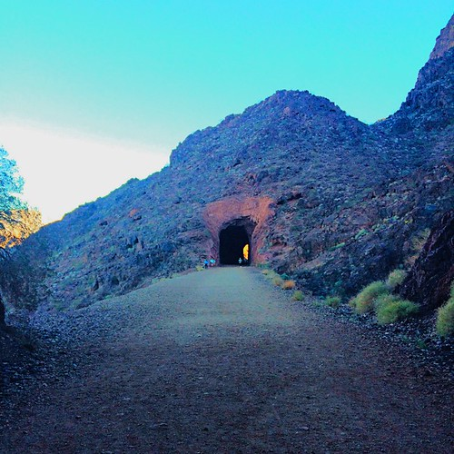 Along the Historic Railroad Tunnel Trail, Boulder City.