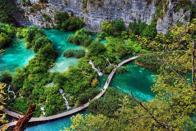 Croatia - Plitvice - Hvratska - Plitvice Lakes National Park - HDR  - 2