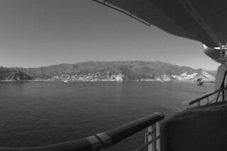Carnival Inspiration - Catalina Island View from deck