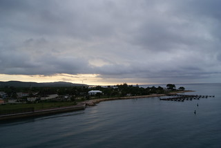 Port of Historic Falmouth at sunset, Jamaica