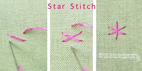 Star Stitch tutorial