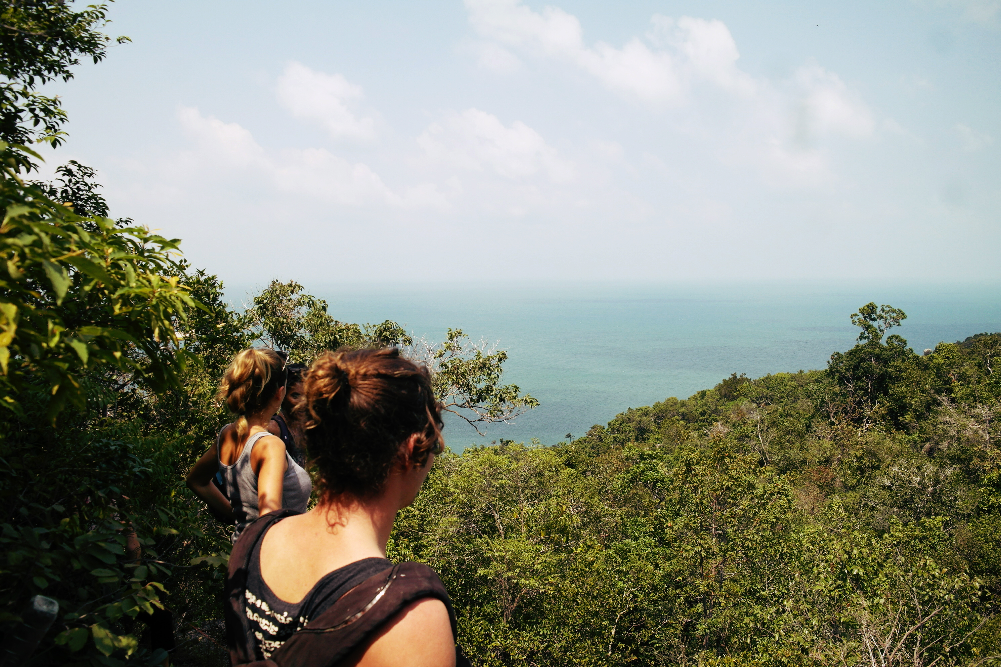 Hiking to Bottle Beach Koh Phangan