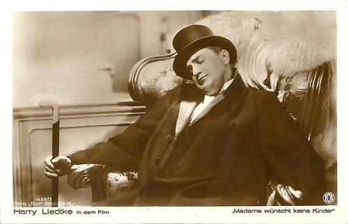Harry Liedtke in Madame wünscht keine Kinder