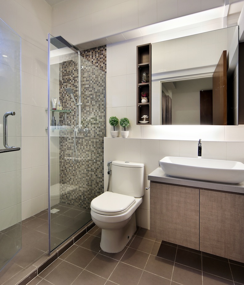 Bathroom Design Pictures Singapore: Modern Style With Western Touches