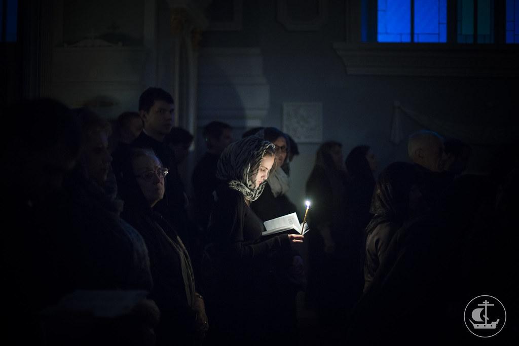 24 февраля 2015, Богослужения вторника Первой седмицы Великого поста / 24 February 2015, Services of the Tuesday of the First week of Lent