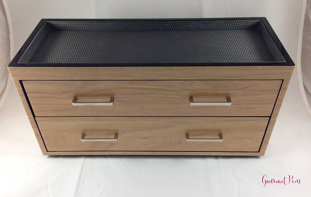 Review Wolf Designs Meridian Two Drawer Valet, Charging Station & Pen Box @Wolf1834 @Massdrop (3)