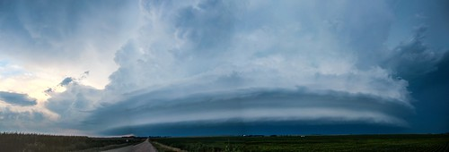 080914 - Elm Creek Nebraska Supercell! (Pano)