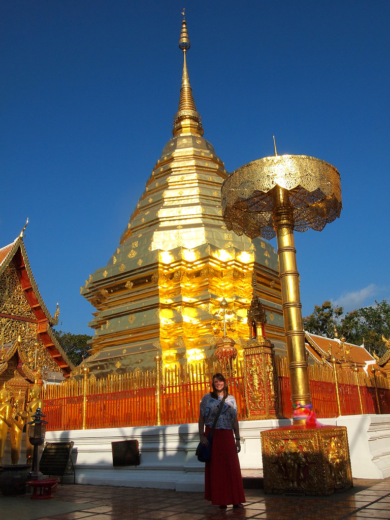 Me at Doi Suthep in Chiang Mai