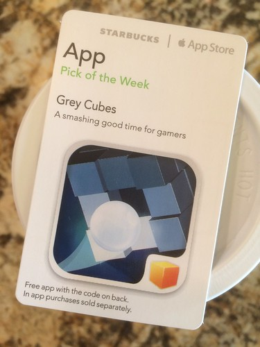 Starbucks iTunes Pick of the Week - Grey Cubes