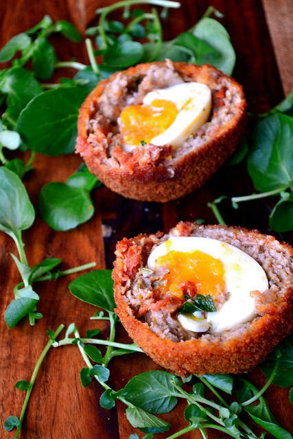 Recipe for Chorizo Scotch Eggs